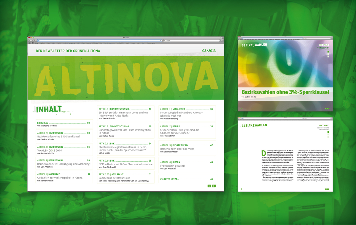 Digitales Mitgliedermagazin